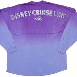 Disney Cruise Line Purple Ombre Spirit Jersey New